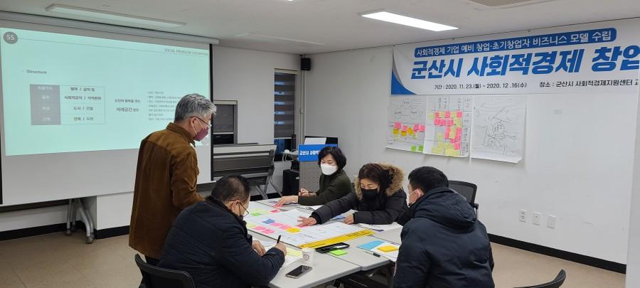군산시 사회적경제 창업·경영아카데미 7회차(2020.12.14)